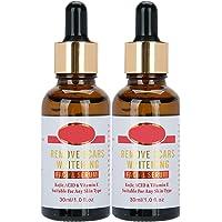 Anti litteken gezicht serum 2 * 30 ml, aangescherpt hydraterende whitening voedende gezicht remover serum litteken crème…