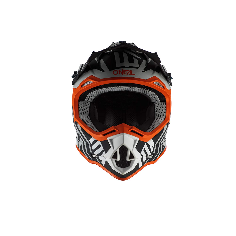 ONeal 2SRS Casco SPYDE 2.0 Nero//Bianco//Arancione M 57//58 cm