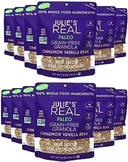 product image for Julie's Real Paleo Grain-Free Granola, Cinnamon Vanilla Bean - Pack of 12