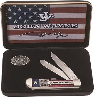 product image for CASE XX WR Pocket Knife 10702 John Wayne Natural Bone Trapper Gift Set