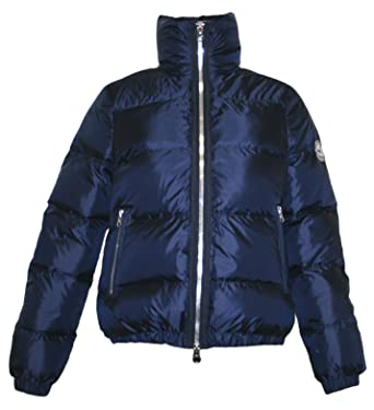 No. 1 Como PADOVA Damen Daunenjacke Blau LARGE: Amazon