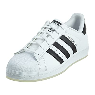 adidas Boys' Grade School Superstar Casual Shoes #B42369 (5 M US Big Kid) | Sneakers