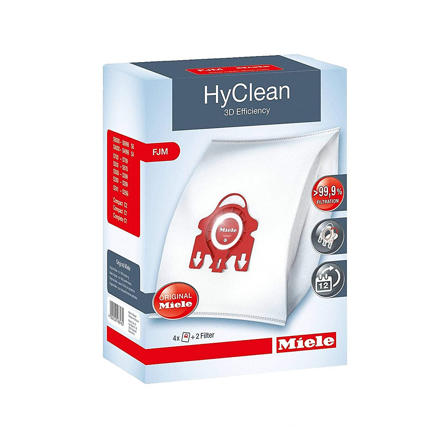 Miele Type FJM 3D Efficiency HyClean Dust Bag