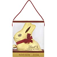 Lindt Giant Milk Chocolate Gold Bunny in an Easter Presentation Carrier Gift Box, 1 Kg