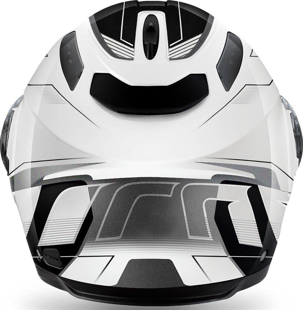 Airoh Phantom S Spirit Flip Front Motorcycle Helmet M White PHSSP38M