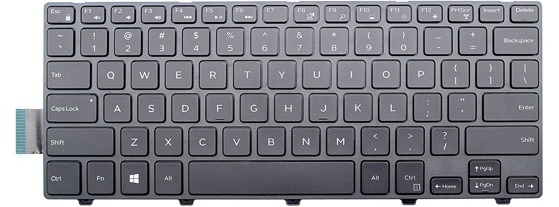 Original New Laptop Notebook Keyboard for Dell Latitude 3450 Keyboard US Black Backlit