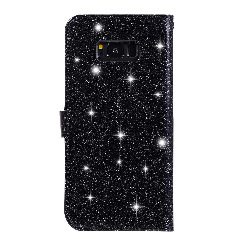 DENDICO - Funda con Tapa para Samsung Galaxy S8 Plus, diseño con ...