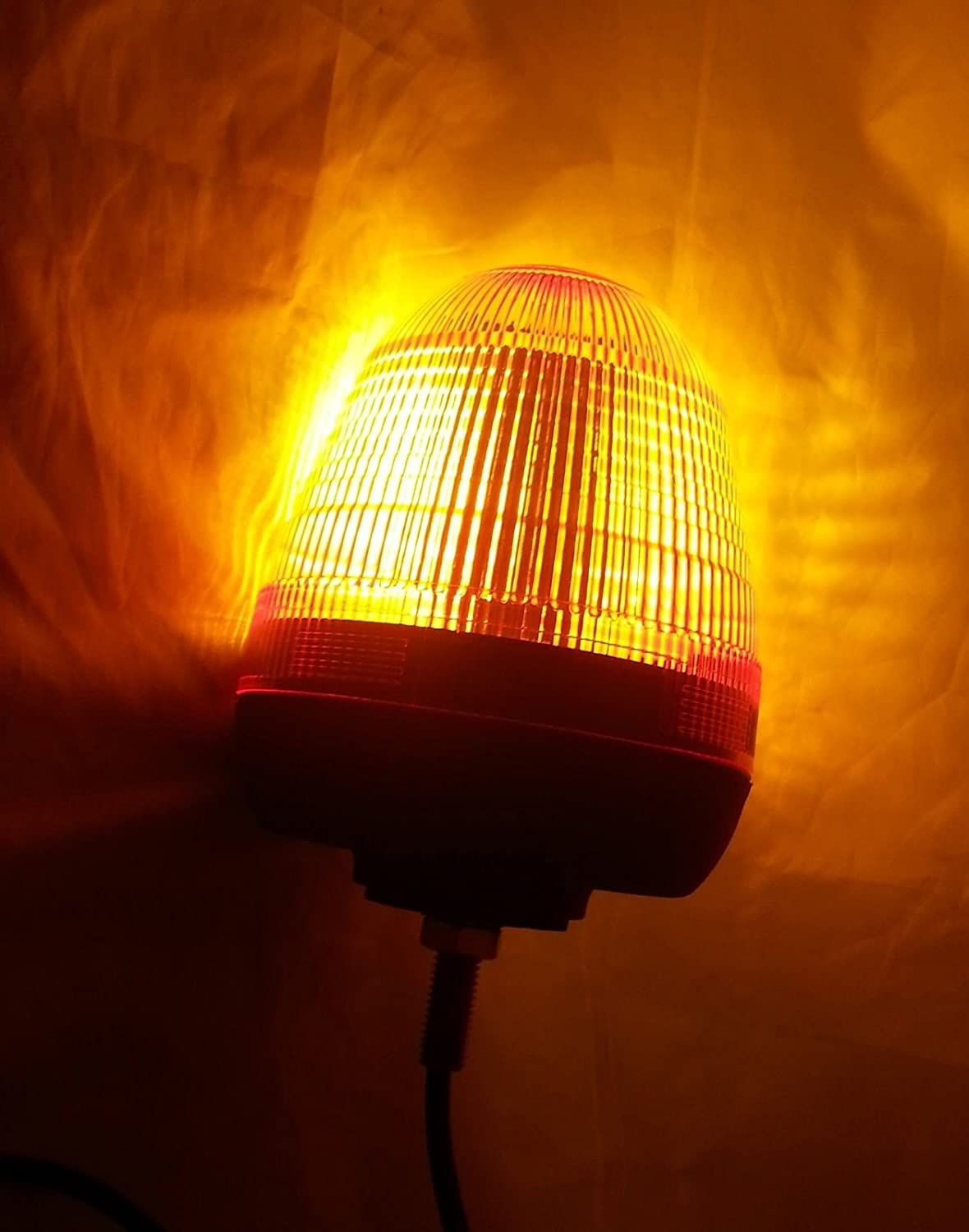 RECOVERY STROBE AMBER LED LIGHT ORANGE BREAKDOWN FLASHING BEACON TRUCK CAB LORRY E-MARKED