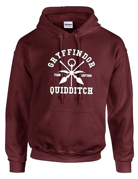 Always Hogwarts Harry Potter Grifondoro Cappuccio Quidditch Felpa qFOgtXO