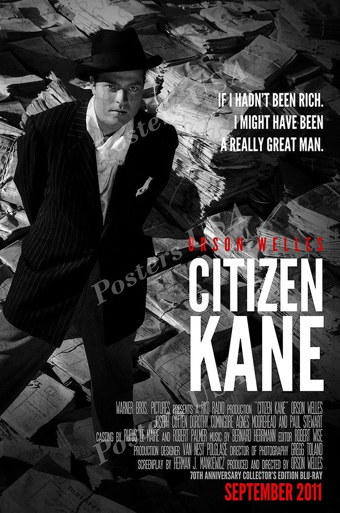 Amazon.com: Carteles EE. UU. – Citizen Kane Póster de la ...