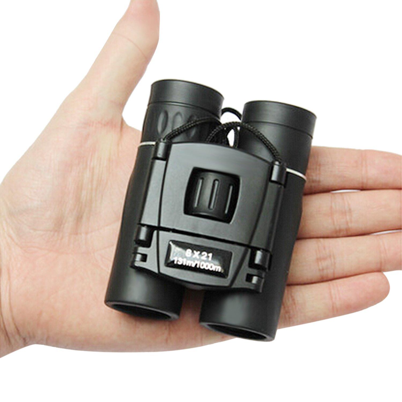 LESHP Prismáticos x Compactos Ligeros Binoculars Ideales para Observación de Aves Acampada