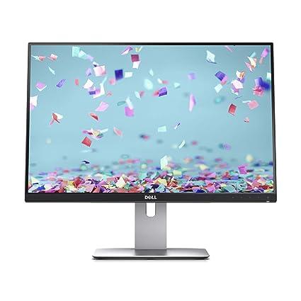 DELL U2415 61,2 cm (24 Zoll) Monitor (HDMI, USB, LED, 6ms Reaktionszeit) schwarz