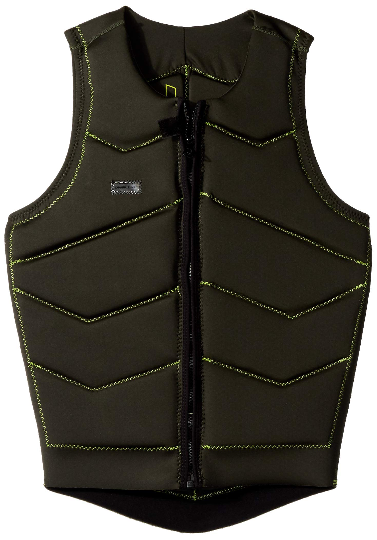 O'Neill Wetsuits Men's Hyperfreak Comp Vest, Fade Green: Lime, X-Small by O'Neill Wetsuits