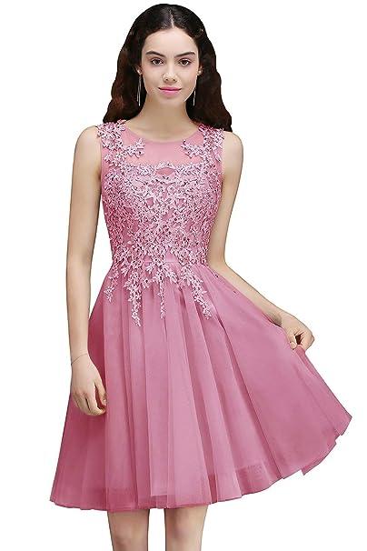 Vestido De Fiesta Para Vestidos Cortos De Elegante Mujer Noche Sin
