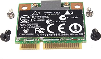 USB 2.0 Wireless WiFi Lan Card for HP-Compaq Pavilion Elite m9452nl