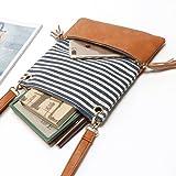 Toniker Leather Splice Canvas Stripe Lightweight