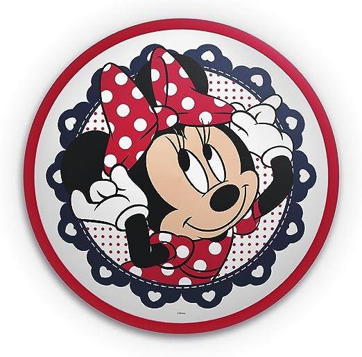Philips Disney LED Deckenleuchte Minnie 7,5 W schwarz  weiß  rot 717613116