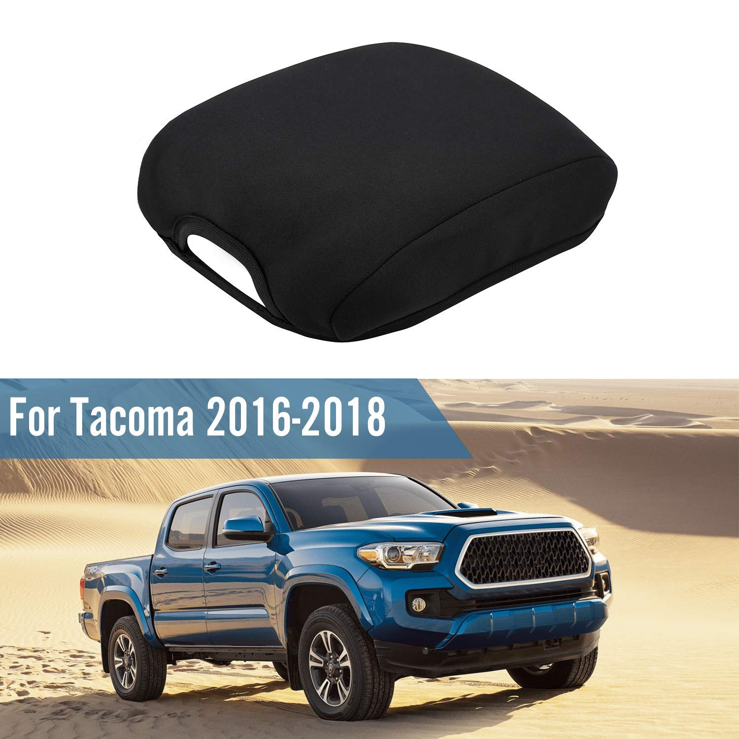 Seven Sparta Center Console Armrest Cover for Toyota Tacoma 2016-2018, Waterproof Neoprene Center Console Cover, Armrest Cover by Seven Sparta