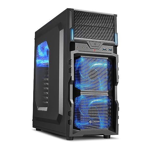 5 opinioni per Sharkoon VG5-W- computer cases (Desktop, PC, ATX, Micro-ATX, Mini-ITX, Bottom,