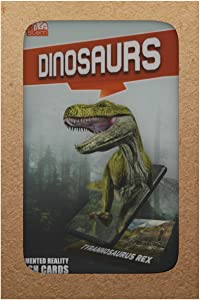 brainSTEM Dinosaurs 4D Augmented Reality Flash Cards | Interactive STEM Learning for Children Ages 4+ | Bold Pack 11 Cards