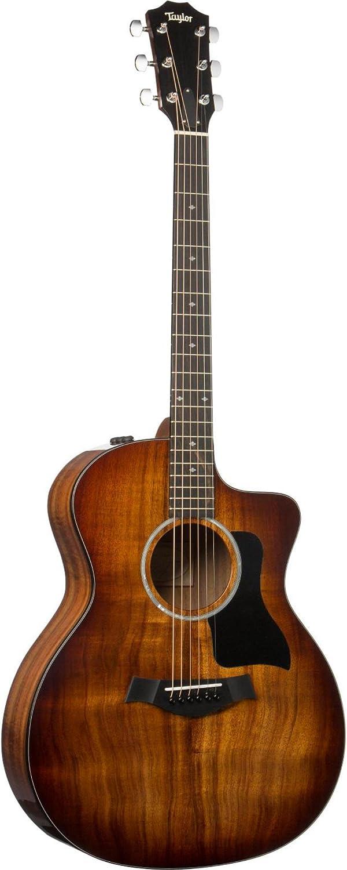 Taylor 224ce-K DLX Koa Deluxe Review - Acoustic-Electric Guitar! 2