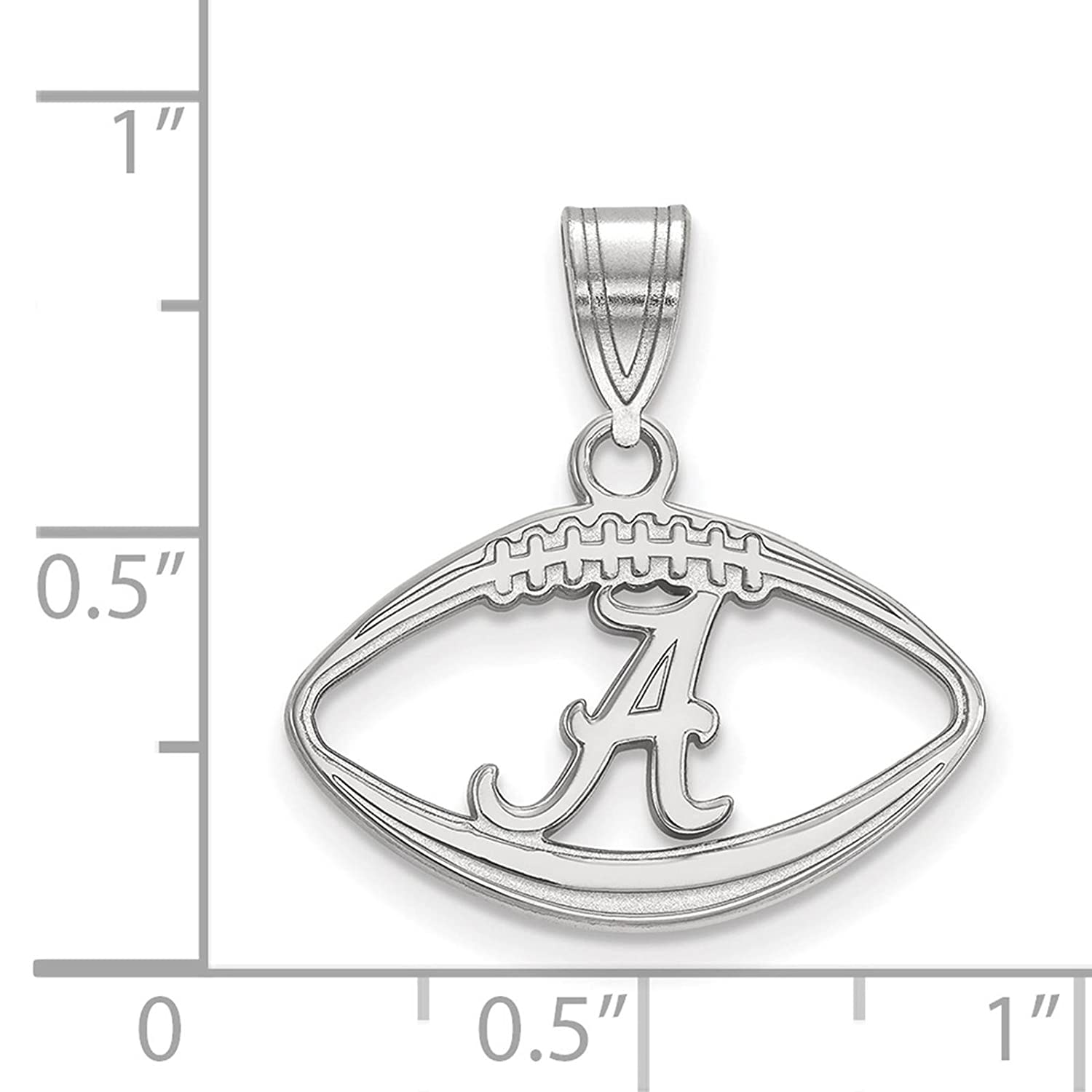 Beautiful Sterling silver 925 sterling Sterling Silver Rhodium-plated Laser Designed Cross Pendant