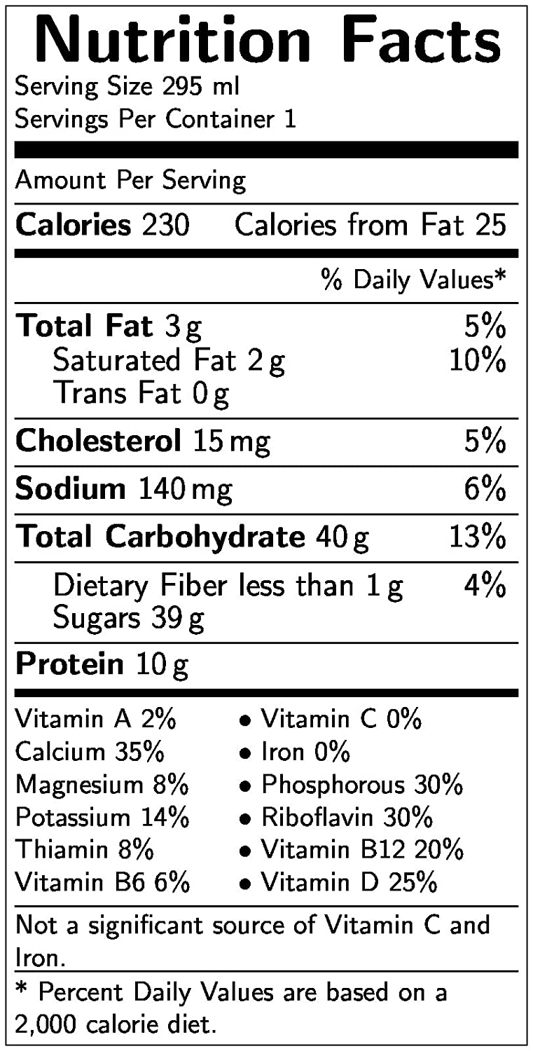 Trix Cereal Nutrition Label Download