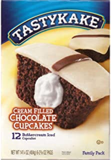product image for Tastykake: Buttercream Filled Chocolate Cupcakes 6/2 Packs (3 Boxes)
