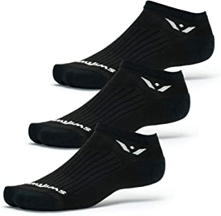 product image for Swiftwick - PERFORMANCE ZERO (3 Pairs) Running & Golf Socks, Cushioned No-Show