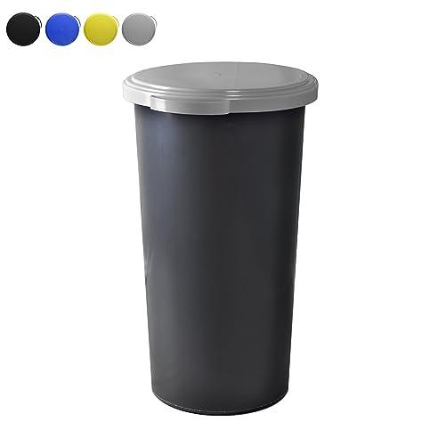 Perfect KUEFA 60L Müllsackständer Mit Flachem Deckel   Gelber Sack Mülleimer  (Hellgrau) Ideas