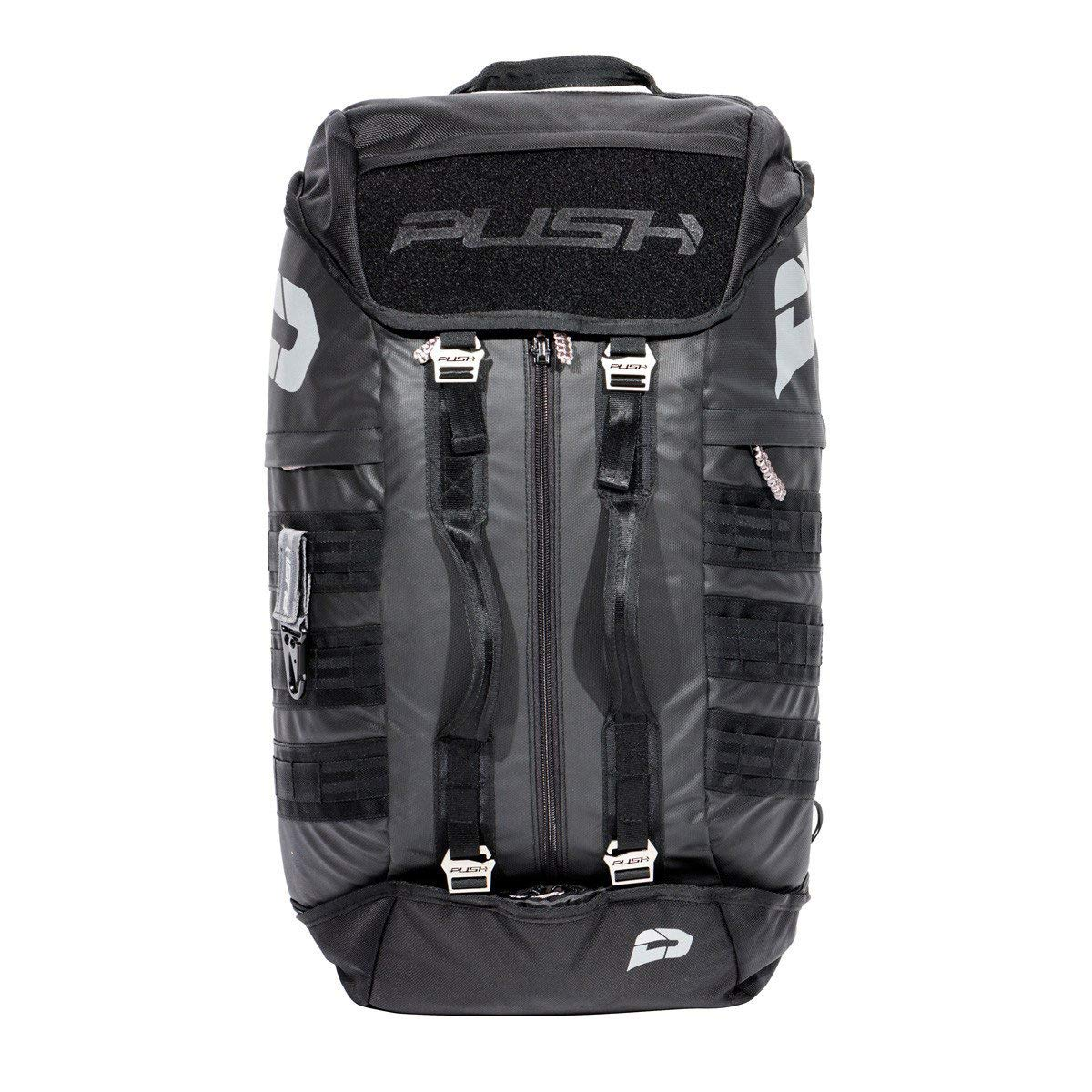 Push Division One GEARBAG Paintball Gear Bag - Black w/Black Straps by Push Paintball