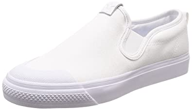 bdb8929fe4b3 adidas Nizza W Womens Slip On White White - 5 UK