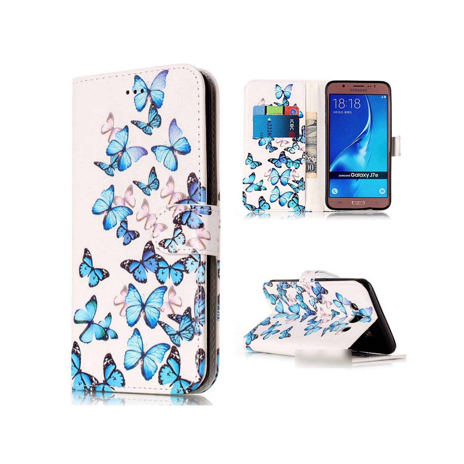Amazon.com: Note 9 PU Leather Case for Samsung Galaxy S9 ...
