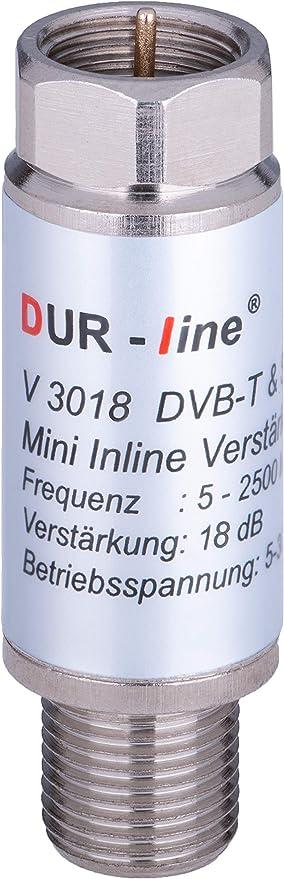 En Mini amplificador 18 db para Sat y DVB-T