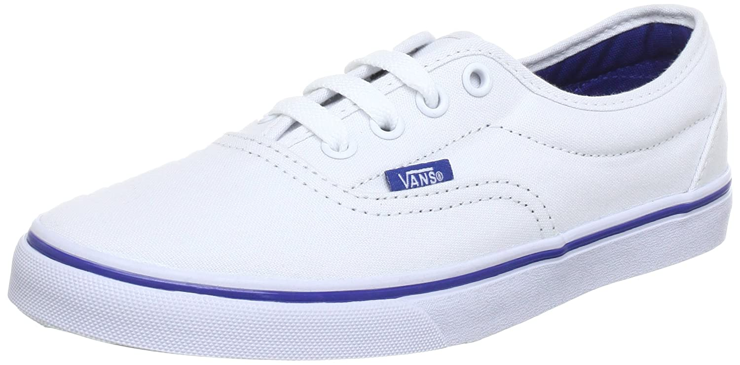 38af4be241 Vans Unisex - Adult U LPE TRUE WHITE TRUE Low Top White Weiß (true white  true) Size  35  Amazon.co.uk  Shoes   Bags