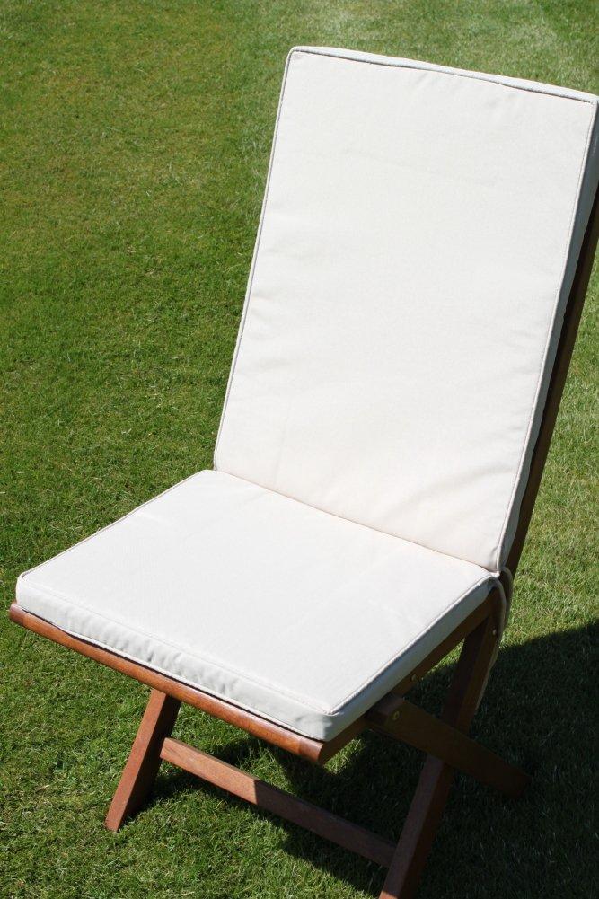 Coussin pour mobilier de jardin - Coussin de siège et dossier pour ...