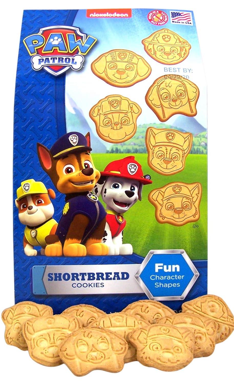 Paw Patrol Character Shaped Shortbread Cookies, 7 oz Box