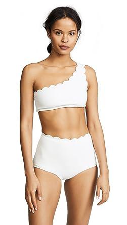 3d722575c95a2 Amazon.com: Marysia Swim Women's Santa Barbara Bikini Top: Clothing