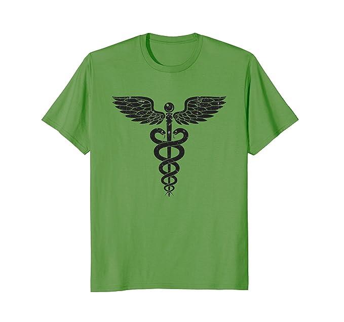 Amazon Medical Tees Medical Caduceus Symbol Of Medicine T