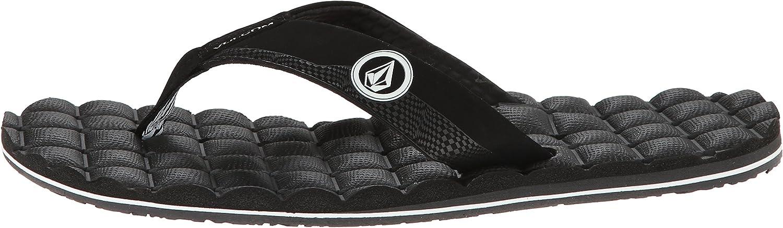 Volcom Men's Recliner Sandal Flip Flop: Shoes