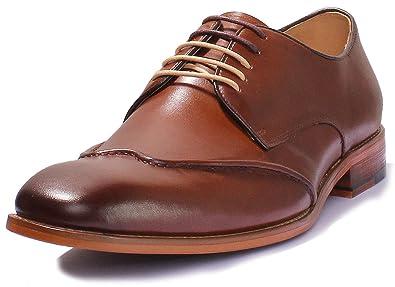 b1bfc984a85 Justin Reece Kevin Brown Men Leather Matt Shoes  Amazon.co.uk  Shoes ...