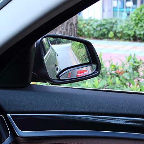 Blind Spot Spiegel Eforcar Auto Spiegel Seitenansicht Blind Spot Wide Mirror Stick Auf Auxiliary Winkel Verstellbare Auto Rückspiegel Stick On Design Fit Für Alle Universal Vehicles Pack Von 2 Auto