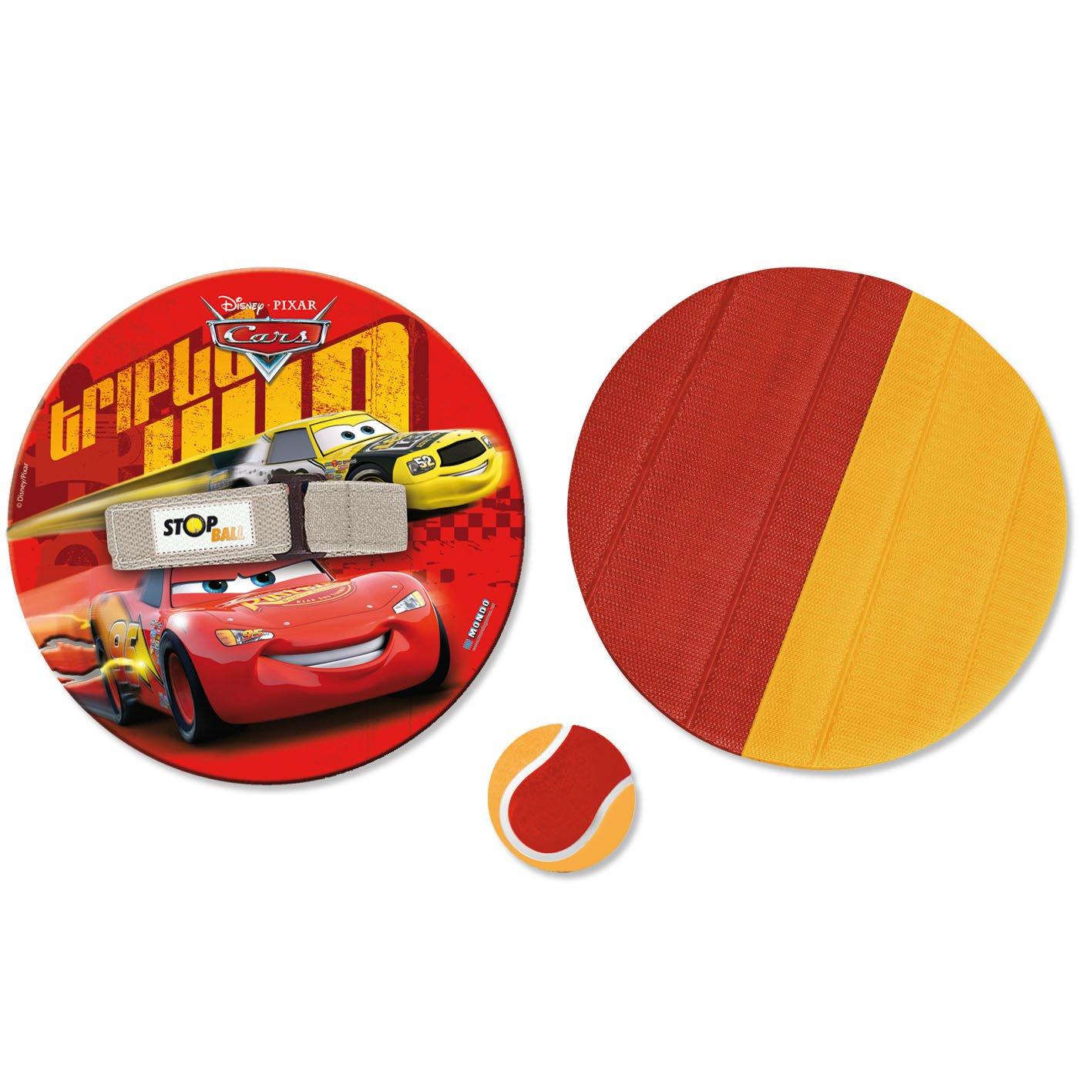 Mondo Disney Cars - Pelota y disco con velcro 15/866