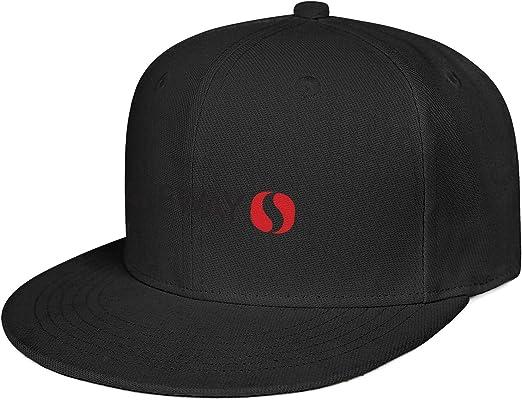 Brim Unisex Adjustable Trucker Hat HCAHCYKN Fashion Baseball Cap Safeway-Supermarket-Chains-America-Flag