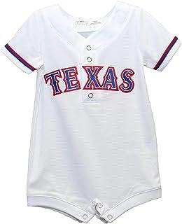 Outerstuff Texas Rangers White Newborn Infants Cool Base Home Romper Jersey e1b49c3ea