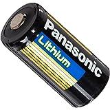 "Panasonic CR123A-12PK Lithium 3V Photo Lithium Battery, 0.67"" Diameter x 1.36"" H (17.0 mm x 34.5 mm), black/Gold/Blue (Pack of 12)"