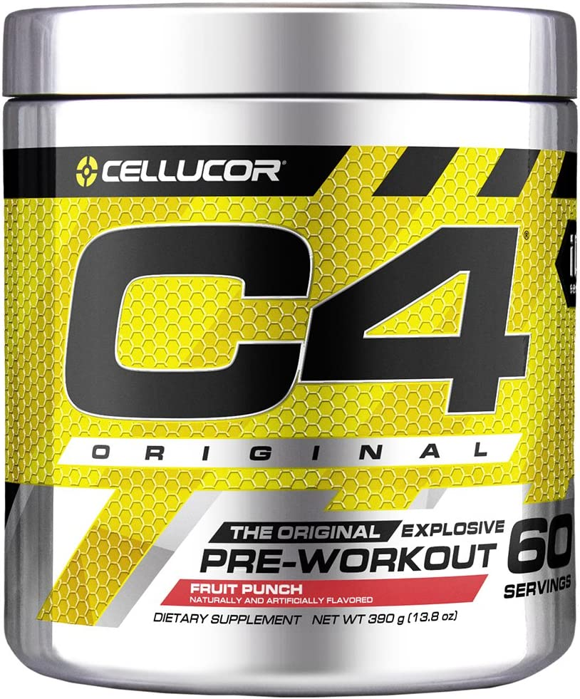 C4 Original Pre Workout Powder Fruit Punch | Vitamin C for Immune Support