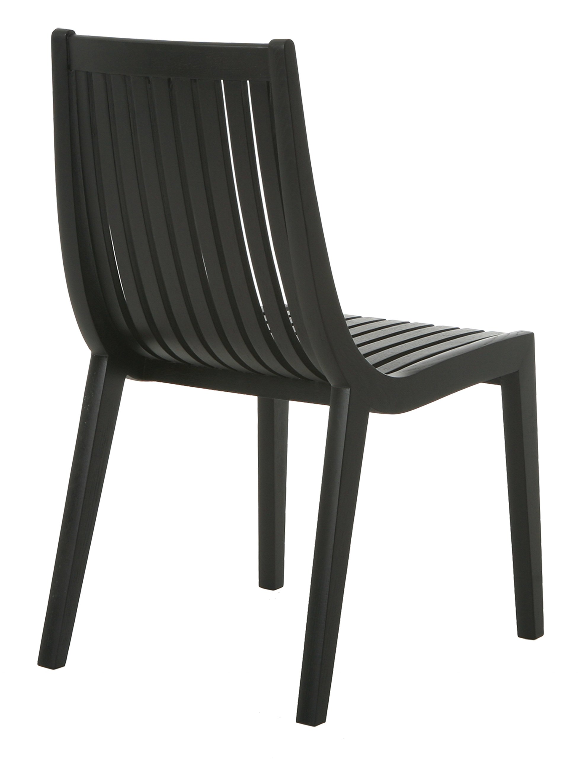 Impacterra Oslo Side Chair, Wenge Veneer/ Veneer - Dining side chair All-MDF frame Suitable for indoor dining, non-commercial use - kitchen-dining-room-furniture, kitchen-dining-room, kitchen-dining-room-chairs - 71YngzcLMZL -