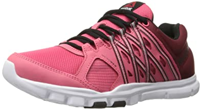 Womens Shoes Reebok YourFlex Trainette 8.0 L MT Fearless Pink/Merlot/Black/White