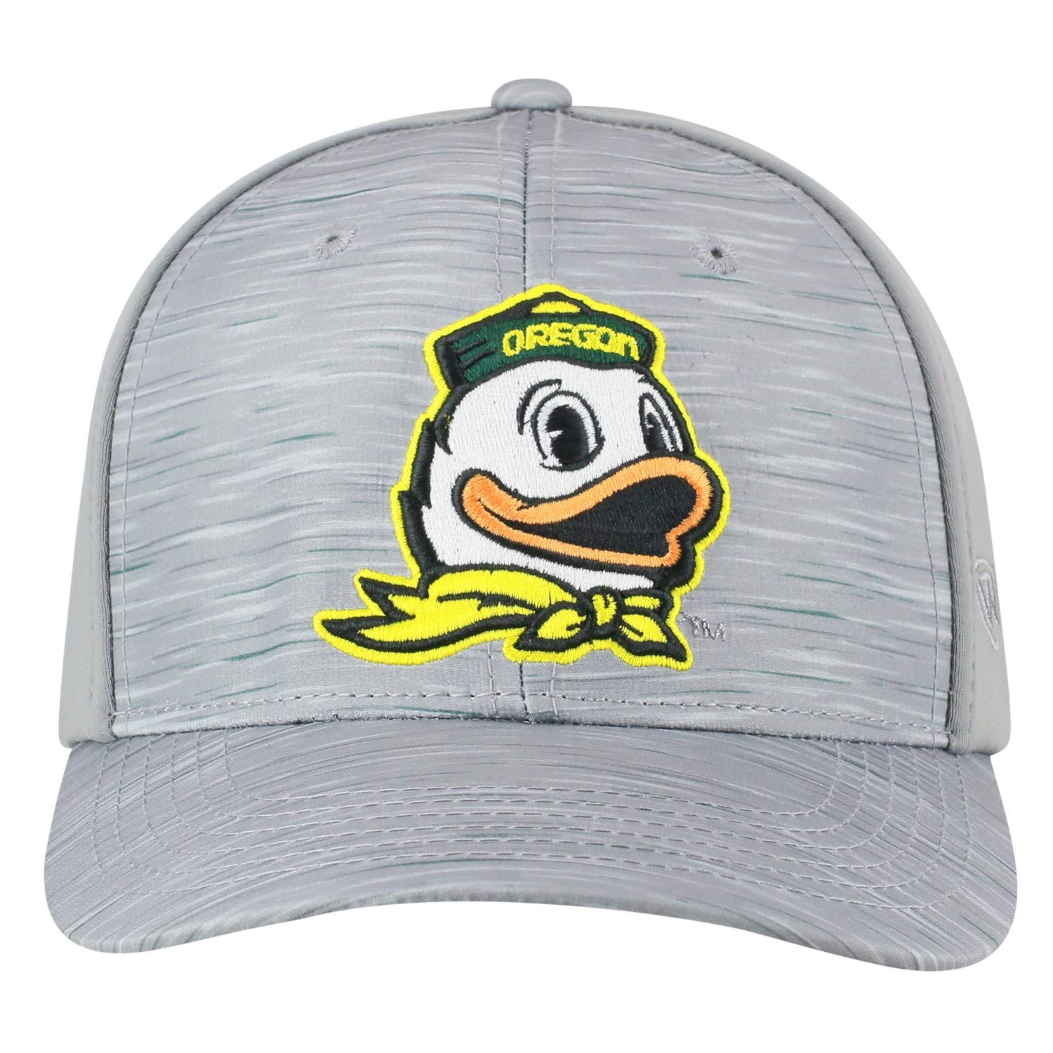 size 40 2b454 669f4 Amazon.com   Top of the World Oregon Ducks Tow Gray Hyper Memory Fit Hat Cap    Sports   Outdoors